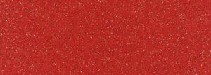 Expoglitter 0962 červená se stříbrnou